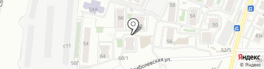 8 ШТАМПОВ на карте Красноярска