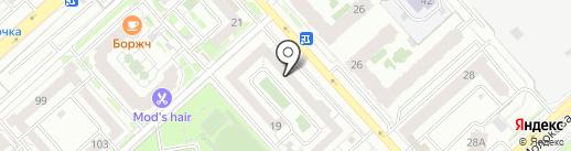 Говоруша Размышлялкин на карте Красноярска
