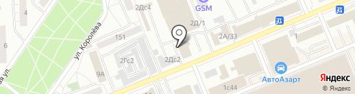ЭОС на карте Красноярска