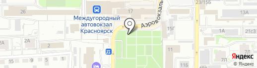 iPhoшка на карте Красноярска