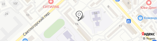 ТеплоЭнергоКомпания на карте Красноярска