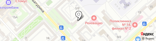 СН-Фарма на карте Красноярска