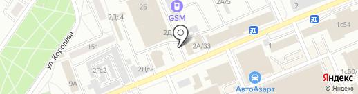 Ардис на карте Красноярска