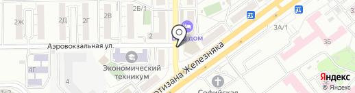 Diana на карте Красноярска