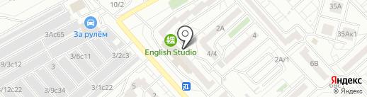 Надеев А.Н. на карте Красноярска