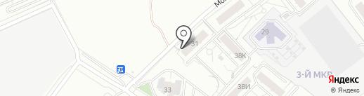 Дарья на карте Красноярска