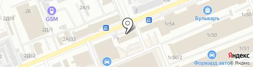Велес Профит Трейд на карте Красноярска