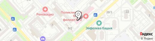 ЗдравСити на карте Красноярска