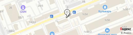 Качинский Яр на карте Красноярска
