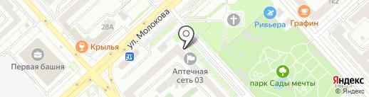 ФСЭБ-сервис на карте Красноярска