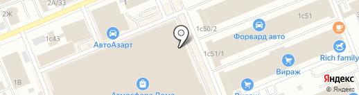 Партнёр на карте Красноярска