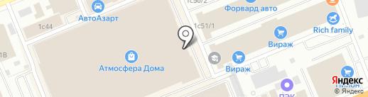 ФАЕРЛИК на карте Красноярска