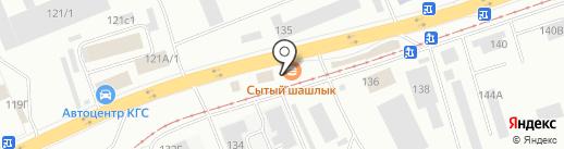 Шинка на карте Красноярска