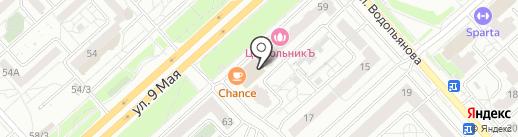 Мясо & Молоко на карте Красноярска