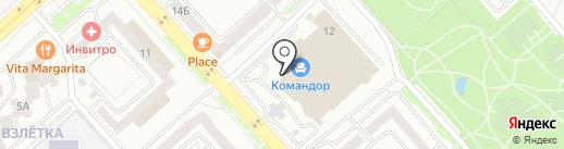 AXENT на карте Красноярска