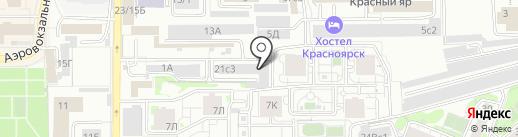 ПлатеЖКа на карте Красноярска
