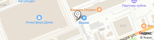 КрасСтройПроект на карте Красноярска