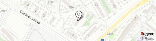 ТПК Ланатекс на карте Красноярска