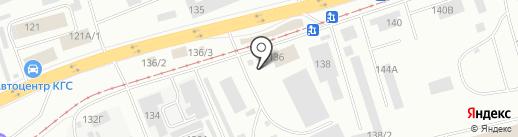 ТЕХНОЛИФТСЕРВИС на карте Красноярска