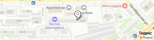 Militon на карте Красноярска