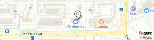 Зенит на карте Красноярска