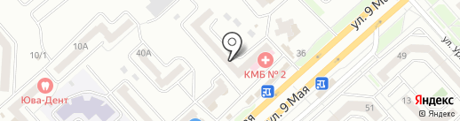 Фотосалон на карте Красноярска