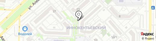 Дея на карте Красноярска