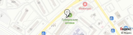 Напильник на карте Красноярска