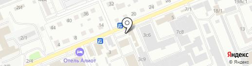 Торговый дизайн на карте Красноярска