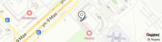 ПроКресло на карте Красноярска