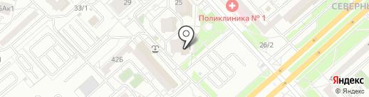 Ортимед на карте Красноярска
