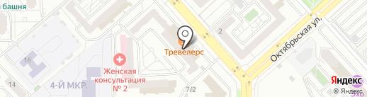 MyStyle на карте Красноярска