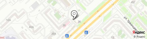 Колбасный дворик на карте Красноярска