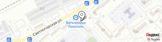КрасСтройКом на карте Красноярска