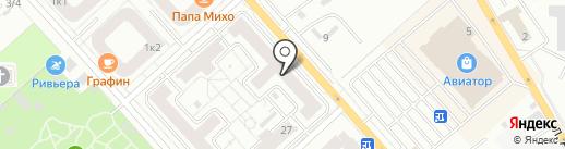 Артбюро на карте Красноярска
