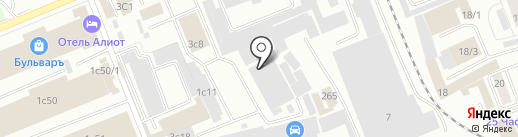 RENI на карте Красноярска
