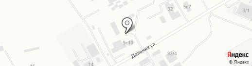 Рубин на карте Красноярска
