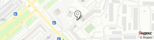 Центр Строительной Комплектации на карте Красноярска