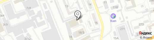НОВОПАК на карте Красноярска