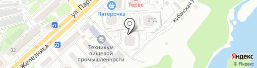 Перья, ТСН на карте Красноярска