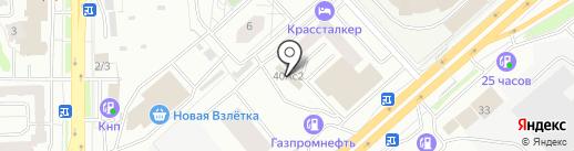ГОРОДСКОЙ ЦЕНТР СЕРТИФИКАЦИИ на карте Красноярска