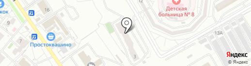 Магазин разливных напитков на карте Красноярска