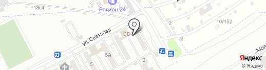 Клиника Авто VVV на карте Красноярска
