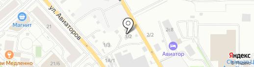 АКПП центр на карте Красноярска