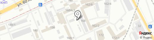 Агат Авто на карте Красноярска