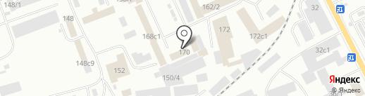 А-Инжиниринг на карте Красноярска