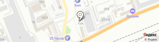 WGO Красноярск на карте Красноярска