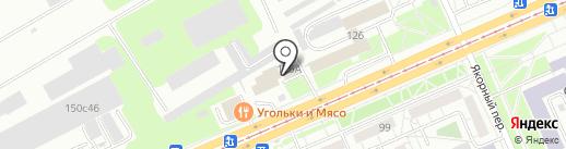ПантеоН на карте Красноярска