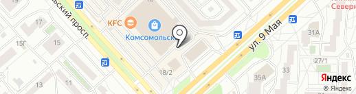 КАРДИНАЛ на карте Красноярска