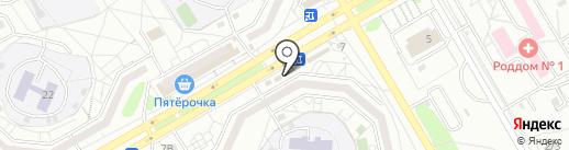 Онлайн на карте Красноярска